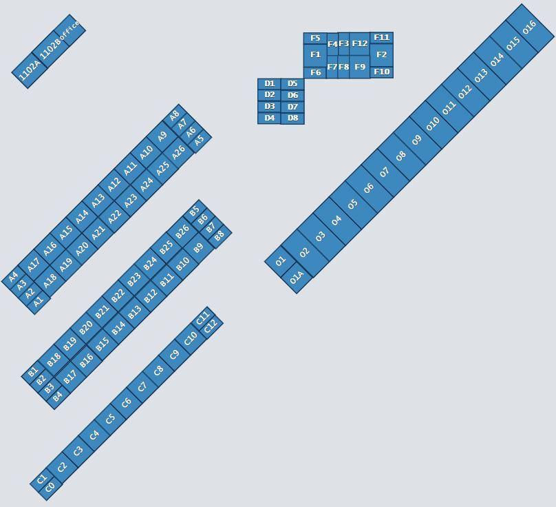 Self Storage Facility Map