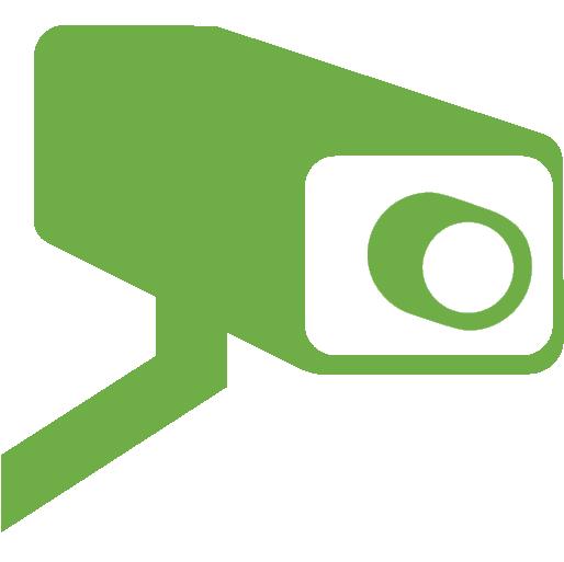 Security camera icon.