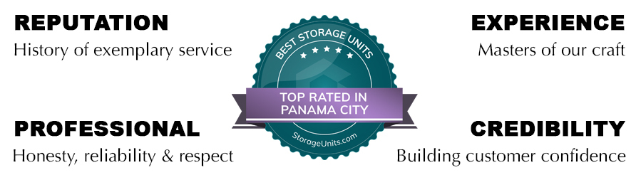 Stow Pros Rated Top in Panama City, FL - Reputation-History of exemplary service, Experience-Masters of our craft, Professionalism-Honesty reliability respect, Credibility-building customer confidence