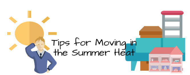 Summer packing and moving