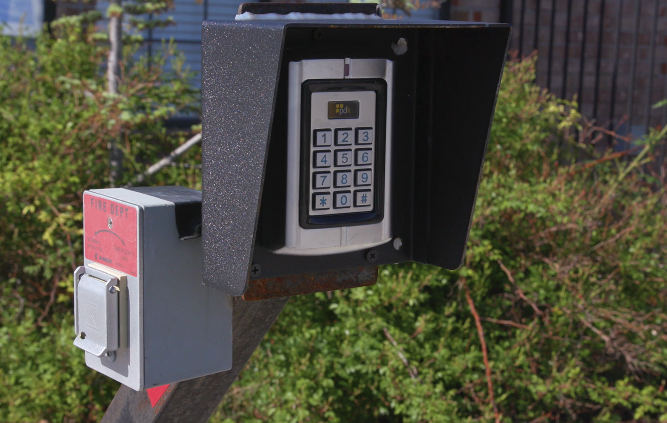 Image of Security Keypad for Packed House Self Storage in Moore OK