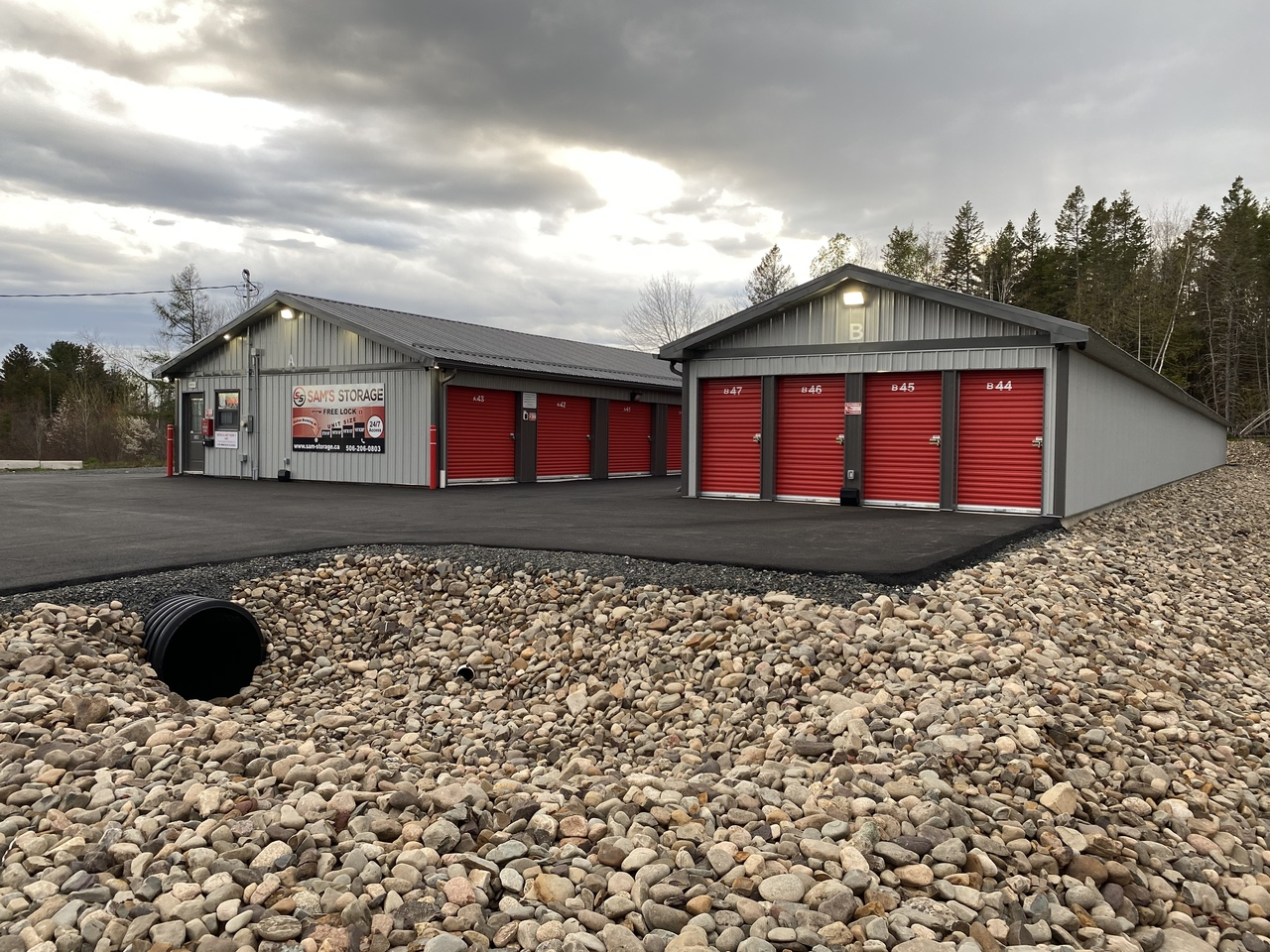 Sam's Storage - Video or our Storage Facility