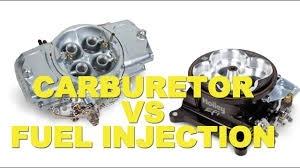 Carburetor vs EFI