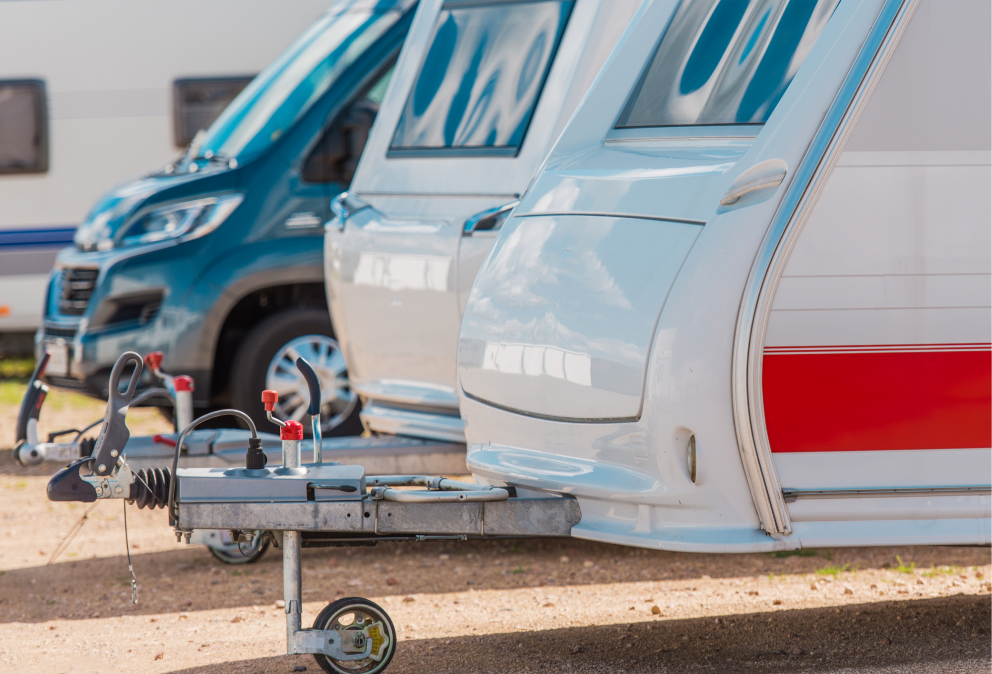 image of outdoor storage for boats, trailers, RVs