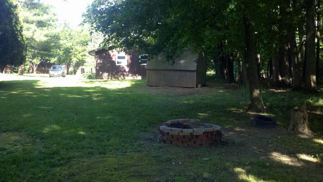 Medium back yard