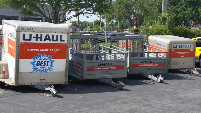 Medium u haul trailers