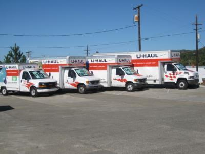 Medium u haul trucks