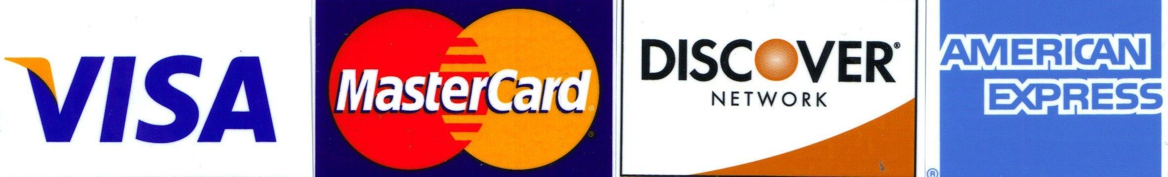 credit cards we take