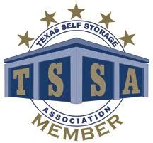 A view of the TSSA logo at TEX Storage.